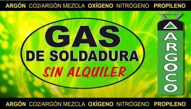 Gas argón Argoco